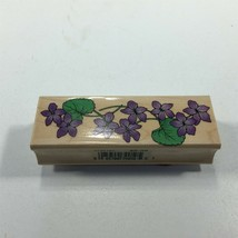 1996 Hero Arts Floral Theme Rubber Stamp 3738184 - $8.99