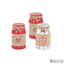 Holiday Handicraft Mason Jar Centerpiece - $27.49
