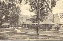 Alumni Gymnasium, Dartmouth College 1942 Vintage Post Card.  - $7.00