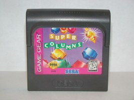 SEGA GAME GEAR - SUPER COLUMNS (Game Only) - $6.75