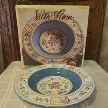 Villa Flora Handpainted Collection Tabletops Unlimited Large Bowl - New in Box - $53.45