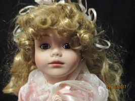 Annick little girl doll paranormal/haunted by Seymour Mann blonde - $44.99