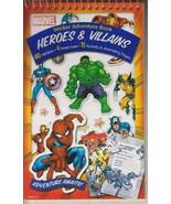 Marvel Heroes & Villains Sticker Adventure Book - Adventure Awaits! - $5.93