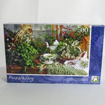 Afternoon Wildflowers and Berries Puzzlebug Jigsaw Puzzle 500 Pc Factory... - $9.85