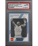 Michael Jordan 1989 North Carolina #65 Collegiate Collection PSA 9 MINT - $94.05
