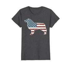 Vintage Patriot Aussie Dog T-shirt Aussie Silhouette Shirt - $19.99+