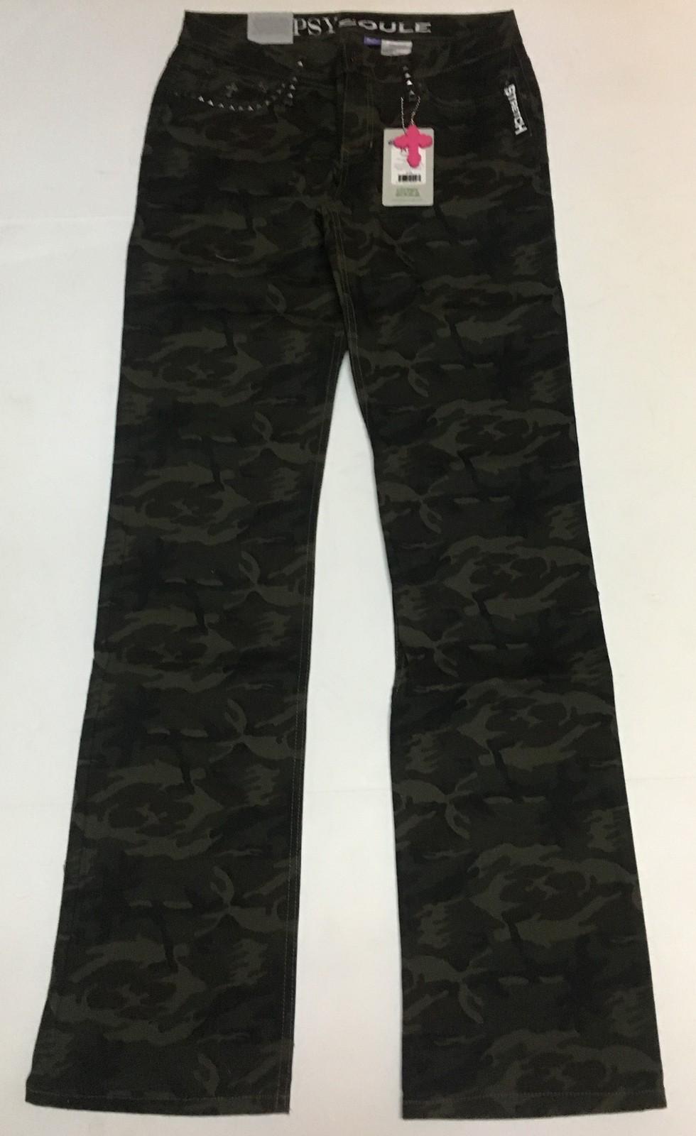 Gypsy Soule Camouflage Pants Jane Sz 6/28 NWT image 4
