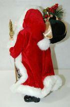 Roman Incorperated Detailed Santa Figurine Holding Filigree Gold Staff image 5