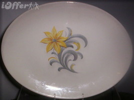 HOMER LAUGHLIN (CUNNINGHAM AND PICKETT) OVAL PLATTER - $17.45
