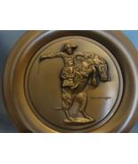 "Frederic Remington's ""Bronco Buster"" Bronze Collector Plate COA - $24.99"