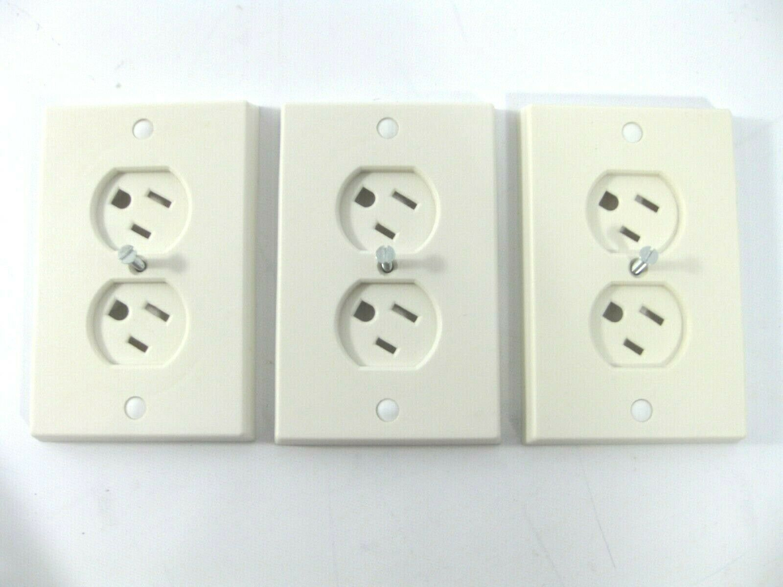 Lot of 3 Safety 1st Swivel Outlet Cover WC-1 Electrical Sockets Are Baby Proof  - $8.99