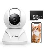 Wireless Security Camera - FHD 1080P MSAFF WiFi Home Cameras IP Indoor S... - $34.76