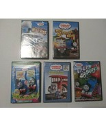 Thomas the Tank Engine & Friends Engine Lot 5 NEW DVDs Factory Sealed Train - $23.75