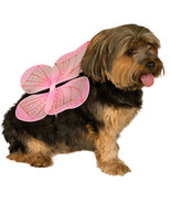 Pink Fairy Wings for Dogs Halloween Costume  Size Medium-Large - $4.00