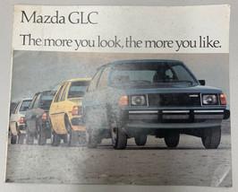 1980 Mazda Glc Sales Brochure / Good Original Dealership Catalog - $8.59