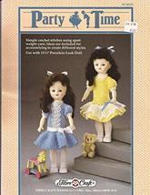 "Party Time Dress for 11 1/2"" Doll - Fibre Craft Crochet Pattern FCM215 - Crochet - $13.84"