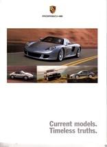 2003 Porsche Full Line  Sales Brochure 911 Turbo GT3  Cayenne Carrera GT... - $15.19
