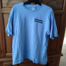 Delta Sigma Pi Auction 2008 light blue tshirt size extra large by gildan - $24.99