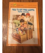 How To Eat Fried Worms Thomas Rockwell paperback book Ships N 24h - $26.71