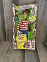 "Where's Waldo? Waldo Talking Doll 18"" Vintage 1991 Mattel Toy Inc Discs - $84.15"