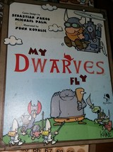 My Dwarves Fly Pegasus Press Board  Funny Cute Card Game unpunched - $8.42