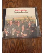 CD Marv Herzog 'European Favorites' 1993 polka Frankenmuth Michigan German - $9.99