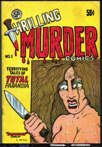 Thrilling Murder, S.F. Comic Book Co. 2nd print,1971, vintage Undergroun... - $20.90