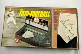 Vintage 1977 Pro Foto Football Board Game By Cadaco No.164 Complete Sports - $18.69