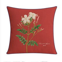 Kylin Express Beautiful American Pastoral Thick Cotton Pillow Case,L - $18.58