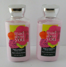 2X Bath & Body Works Mad About You Lotion Shea Butter Aloe Vit E Non-Gre... - $19.79