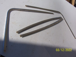 1975 1976 CUSTOM LTD MARQUIS 4 DOOR REAR BACK WINDOW TRIM MOLDING OEM USED - $184.29