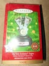 2000 HALLMARK HARLEY DAVIDSON BIG TWIN EVOLUTION ENGINE ORNAMENT LIGHTS ... - $18.99