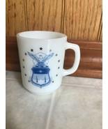 Vintage United States Air Force Academy White COFFEE MUG FIRE KING MILK ... - $69.76