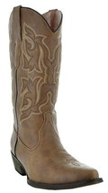 COUNTRY LOVE W101-1001 BROWN WOMEN'S COWBOY BOOTS - 10 US - $47.29