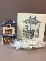 "Vintage Department 56 Dickens Village "" Walpole Tailors"" 1988 #59269 - $46.52"