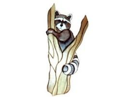 Raccoon in Tree - intarsia Wood Carving  - $110.99