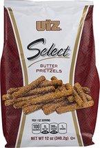 Utz Select Butter Pretzels 12 oz. Bag (3 Bags) - $27.27