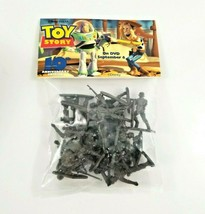 Disney Toy Story Bag Of Army Men Soldiers Authentic 10th Anniversary 200... - $10.95