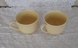 "2 Vintage Franciscan ""Flying F' Gold Yellow Spe... - $9.99"
