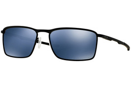 Oakley Conductor 6 OO4106-03 Matte Black Frame / Ice Iridium Polarized Lenses - $177.21