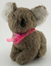 DAKIN Plush KOALA Bear Pillow Pets Stuffed with Ground Nut Shells Vintag... - $9.89
