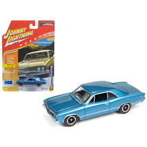 1967 Chevrolet Chevelle Blue  \Muscle Cars USA\ 1/64 Diecast Model Car b... - $14.19
