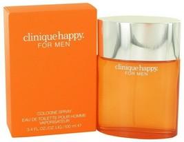 Happy Cologne by Clinique, 3.4 oz(100ml) Cologne Spray(VAPORISATEUR) Men... - $50.98