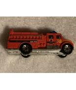 MATCHBOX CAR  Red International Pumper Metro Alarm & WR-1168 on both sid... - $2.00