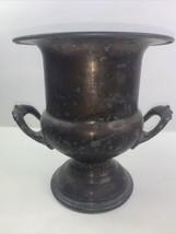 "Vintage Newport Gorham Silverplate Ice Bucket Wine Cooler 10"" YB346 ORHAM - $37.05"
