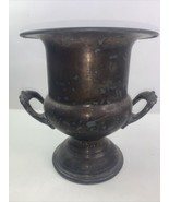"Vintage Newport Gorham Silverplate Ice Bucket Wine Cooler 10"" YB346 ORHAM - $37.05"