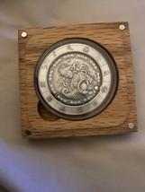 Zodiac Horoscope Virgo The Virgin 1 oz Silver Antiqued Capsuled UHR Roun... - $69.29