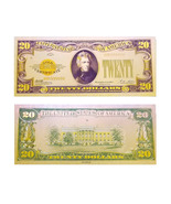 24K .999 Gold 1928 $20 Dollar Gold Cert Banknote with COA (Cert of Authe... - €4,18 EUR