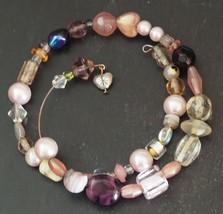 KP-BR-0007 - Pink Coils Bracelet - $12.00