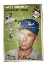 1954 Harry Brecheen Baseball Card, Topps #203 - $14.00